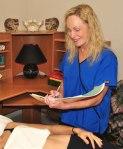 Belinda Wurn at work