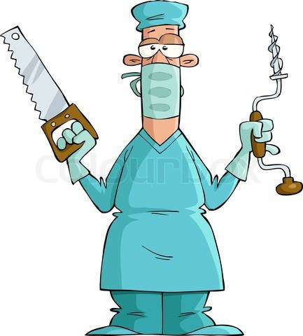 Surgeon on Cartoons About Technical Writing